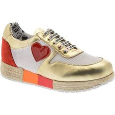 Buty sportowe damskie Love Moschino sneakersy młodzieżowe