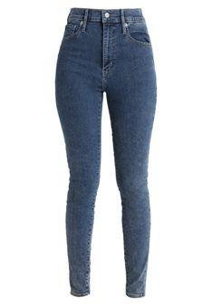 Levi's® - Jeansy Skinny Fit - niebieski denim