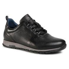 Sneakersy WOJAS - 10039-51 Czarny