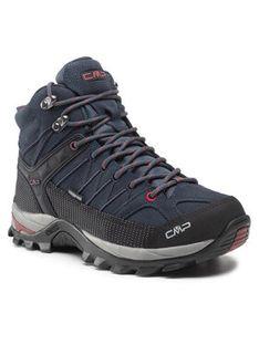 CMP Trekkingi Rigel Mid Trekking Shoes Wp 3Q12947 Granatowy