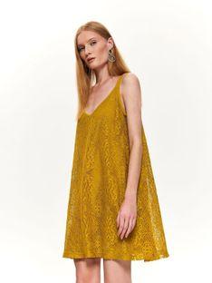 Luźna koronkowa sukienka