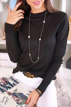 Sweter damski DABIKA BLACK
