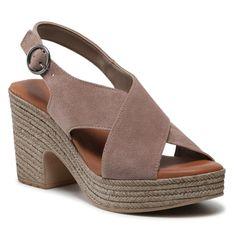 Sandały TAMARIS - 1-28036-36 Taupe 341