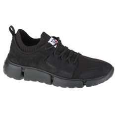 Buty Tommy Hilfiger Jeans Chunky Mono Sock Lea Trainers M EM0EM00679-BDS czarne