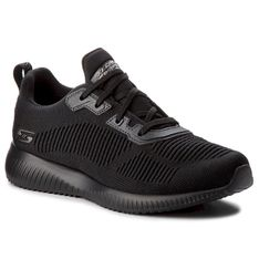 Sneakersy SKECHERS - BOBS SPORT Squad Tough Talk 32504/BBK Black