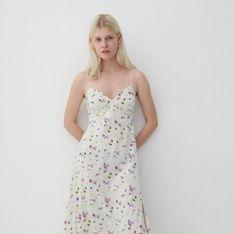 Reserved - Dzianinowa sukienka - Wielobarwny