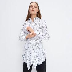 Mohito - Koszula z printem - Biały