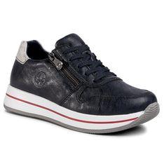 Sneakersy RIEKER - N4530-14 Blau