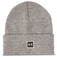 Czapka UNDER ARMOUR - Truckstop Beanie 1356707-200  Grey
