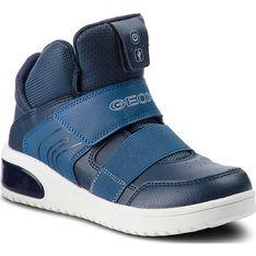 Buty zimowe dziecięce Geox trzewiki