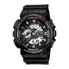 Zegarek G-SHOCK - GA-110-1AER Black/Black