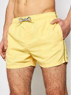 Pepe Jeans Szorty kąpielowe New Brian PMB10265 Żółty Regular Fit