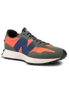 New Balance Sneakersy MS327TB Pomarańczowy