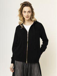 Escada Sport Sweter Shakespear 5031923 Czarny Regular Fit
