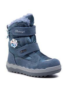 Primigi Śniegowce GORE-TEX 6381622 M Niebieski