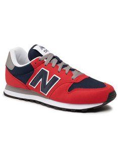 New Balance Sneakersy GM500TG1 Czerwony