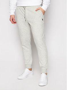 Polo Ralph Lauren Spodnie dresowe Core Replen 710652314013 Szary Regular Fit