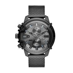 Zegarek DIESEL - Griffed Chronograph DZ4536  Black