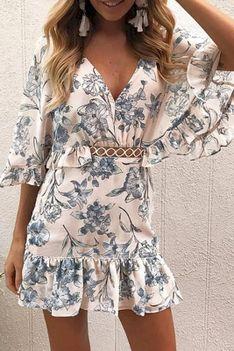Sukienka RANIZA BLUE