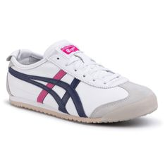 Sneakersy ONITSUKA TIGER - Mexico 66 THL7C2 White/Navy/Pink 0154