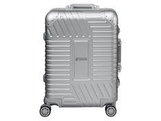 TOPMOVE® Walizka aluminiowa Premium 32l srebrna, 55 x 40 x 21 cm