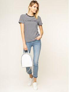 Calvin Klein Jeansy Slim Fit Light Blue Ankle K20K201760 Niebieski Slim Fit