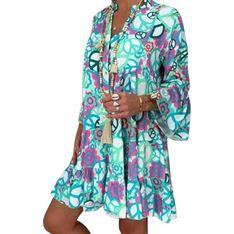 Sukienka Sandbella casual mini oversize'owa