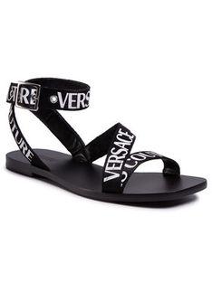 Versace Jeans Couture Sandały E0VVBS57 Czarny