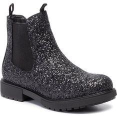 Buty zimowe dziecięce Gioseppo czarne z zamkiem