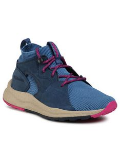 Columbia Sneakersy Sh/Ft Outdry Mid BL1020 Granatowy