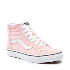 Sneakersy VANS - Sk8-Hi Zip VN0A4UI49AL1 Powder Pink/True White