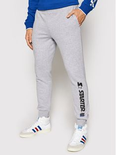 Starter Spodnie dresowe SMG-005-BD Szary Regular Fit