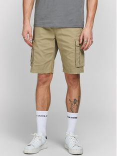 ONLY & SONS Szorty materiałowe Zack 12184905 Beżowy Regular Fit