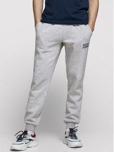Jack&Jones Spodnie dresowe Gordon Newsoft 12178421 Szary Regular Fit