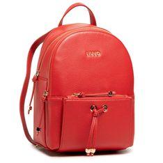 Plecak LIU JO - Armonica AA1247 E0027 True Red 91664