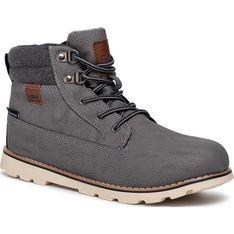 Buty zimowe dziecięce brązowe Cmp sznurowane trzewiki