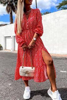Sukienka SENERMA RED