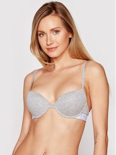 Emporio Armani Underwear Biustonosz push-up 164394 1P227 00948 Szary