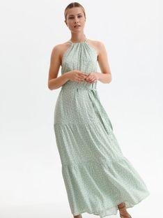 Sukienka maxi w grochy
