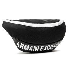 Saszetka nerka ARMANI EXCHANGE - 952320 1P007 42520 Black/White