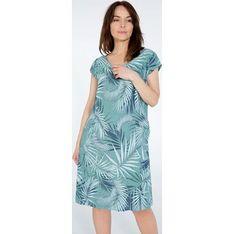 Sukienka Unisono z dekoltem w literę v
