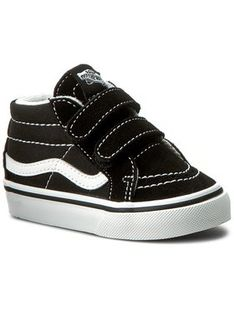 Vans Sneakersy Sk8-Mid Reissue V VN00018W6BT Czarny