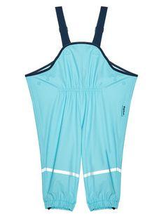 Playshoes Spodnie przeciwdeszczowe 405424 M Niebieski Regular Fit