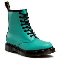 Glany DR. MARTENS - 1460 26069983 Peppermint Green