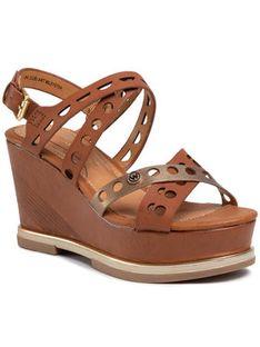Wrangler Sandały Toledo Jeanies WL01570A Brązowy
