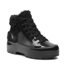 Botki MELISSA - Fluffy Sneaker Ad 33318 Black 01003