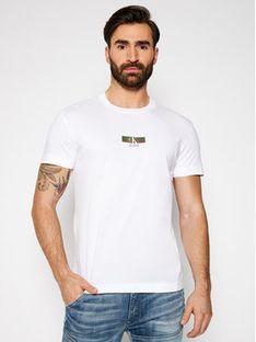 Calvin Klein Jeans T-Shirt J30J317492 Biały Regular Fit