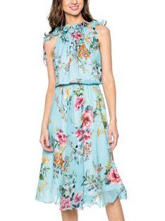 Zwiewna sukienka w kwiaty L`AF BRENDA