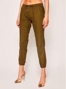 Napapijri Spodnie materiałowe Maree W NP0A4E3PG Zielony Regular Fit