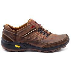 Olivier Męskie buty trekkingowe 274GT brązowe